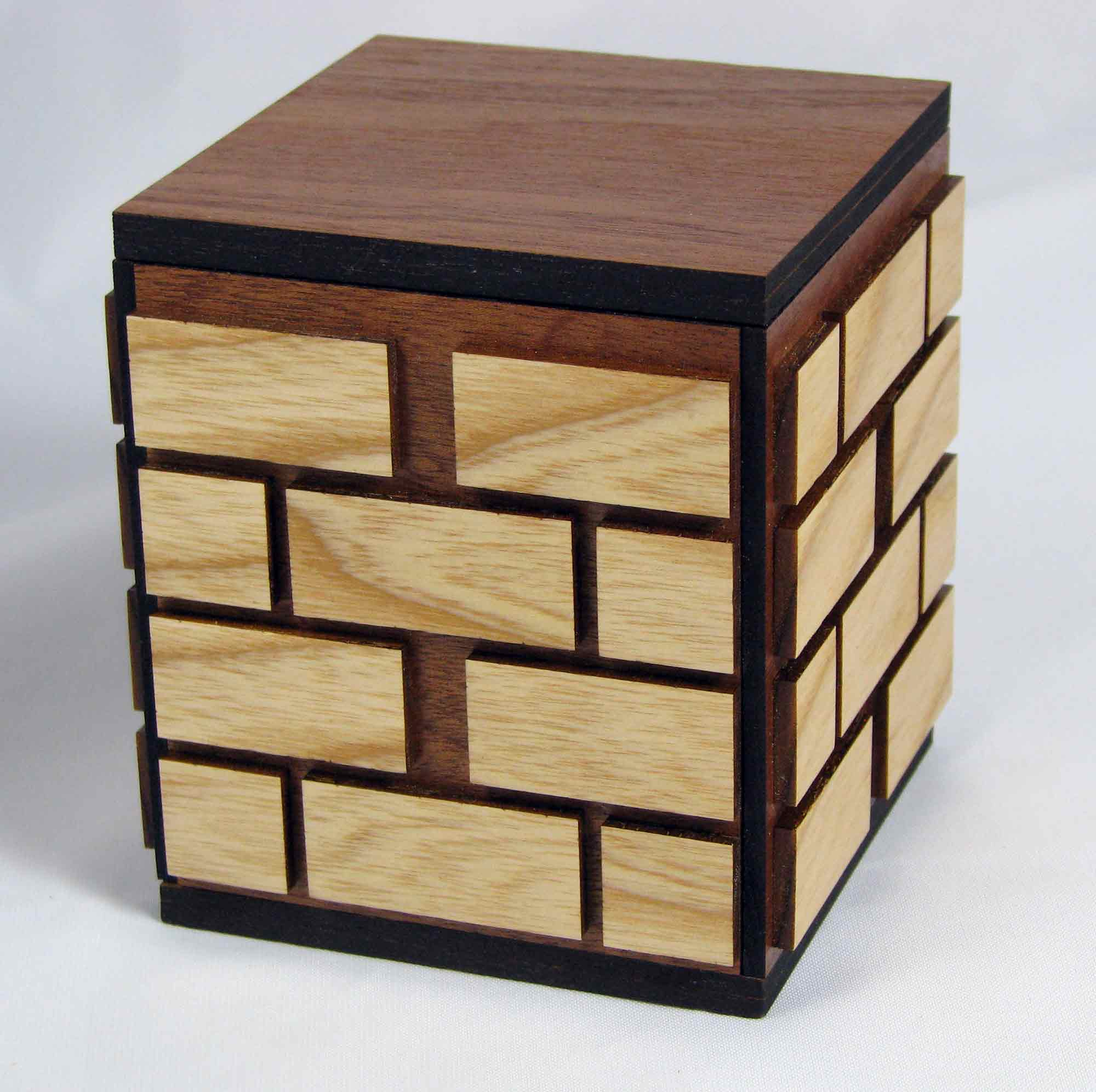 Free japanese puzzle box plans diywoodplans for Box table design